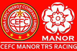 Logo, CEFC Manor TRS Racing