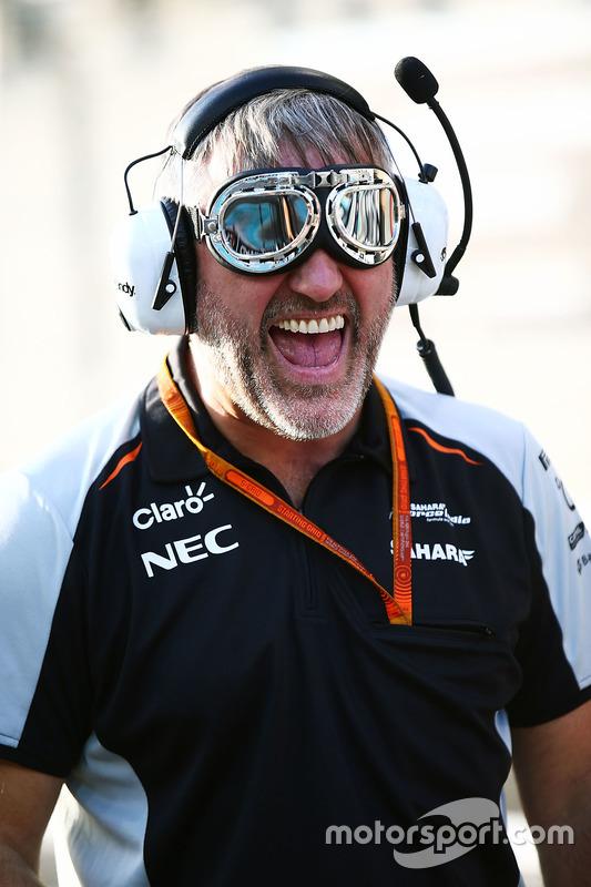 Mecánico de Sahara Force India F1 Team