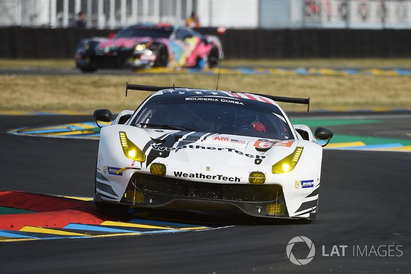 3. LMGTE-Am: #62 Scuderia Corsa, Ferrari 488 GTE