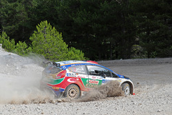 #14 Murat Bostancı, Onur Vatansever, Ford Fiesta R5, Castrol Ford Team Türkiye
