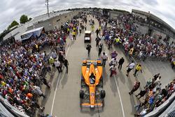 Fernando Alonso, Andretti Autosport Honda Gasoline Alley