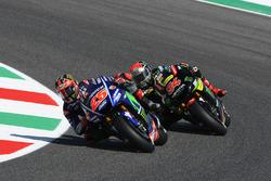 Maverick Viñales, Yamaha Factory Racing; Jonas Folger, Monster Yamaha Tech 3