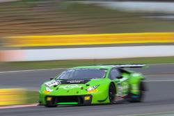 #19 GRT Grasser Racing Team Lamborghini Huracan GT3: Ренгер ван дер Занде, Фредерік Фервіш, Есекьєль Перес Компан