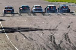 Start in der Rallycross-WM
