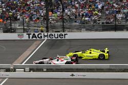 James Davison, Dale Coyne Racing Honda, Simon Pagenaud, Team Penske Chevrolet