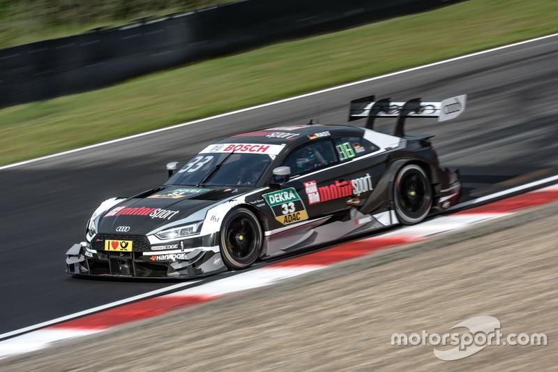 Ausfall: René Rast, Audi Sport Team Rosberg, Audi RS 5 DTM