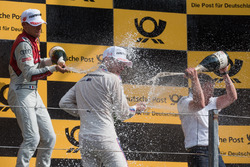 Podium: Loic Duval, Audi Sport Team Phoenix, Audi RS 5 DTM, Marco Wittmann, BMW Team RMG, BMW M4 DTM, Stefan Reinhold, BMW Team RMG