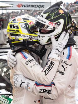 1. Timo Glock, BMW Team RMG, BMW M4 DTM, 3. Maxime Martin, BMW Team RBM, BMW M4 DTM