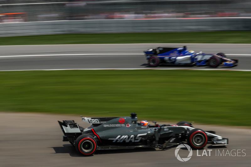 Ромен Грожан, Haas F1 Team VF-17, Маркус Ерікссон, Sauber C36