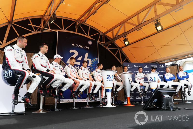Porsche GT Team drivers