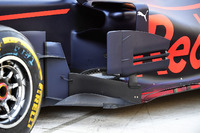 Detalle del bargeboard del Red Bull Racing RB13