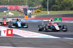 Simo Laaksonen, Campos Racing devant David Beckmann, Jenzer Motorsport