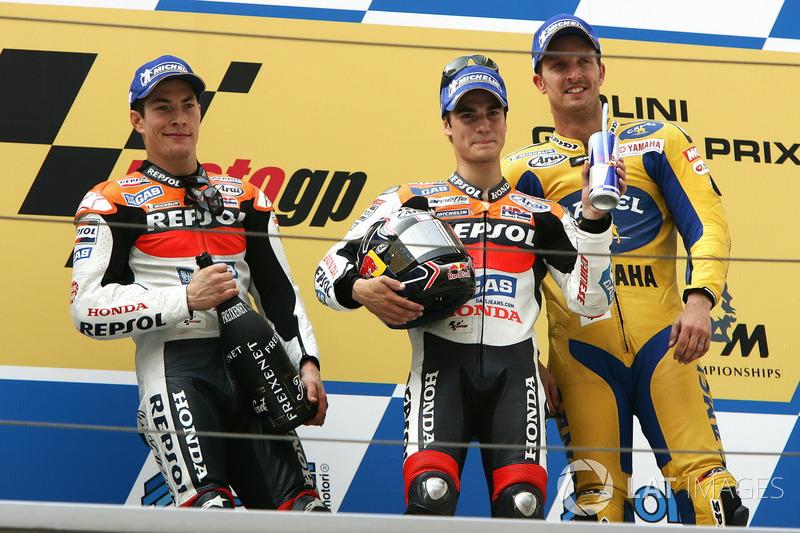 2006: Гран Прі Китаю, перша перемога у MotoGP у четвертій гонці прем'єр-класу