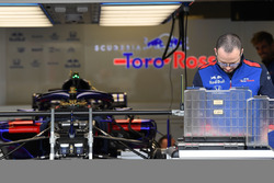 Scuderia Toro Rosso STR13 in the garage