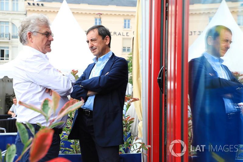 Pierre Fillon, President ACO, Jacques Nicolet