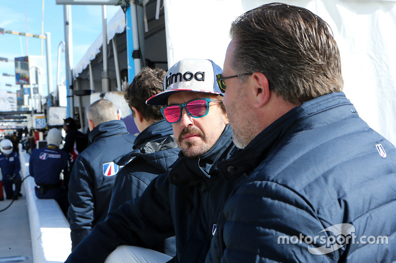 Fernando Alonso, United Autosports, Zak Brown
