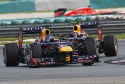 Sebastian Vettel, Red Bull Racing RB9, Mark Webber, Red Bull Racing RB9