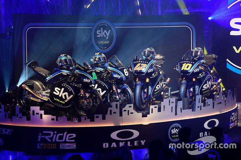 Motor balap Sky Racing Team VR46