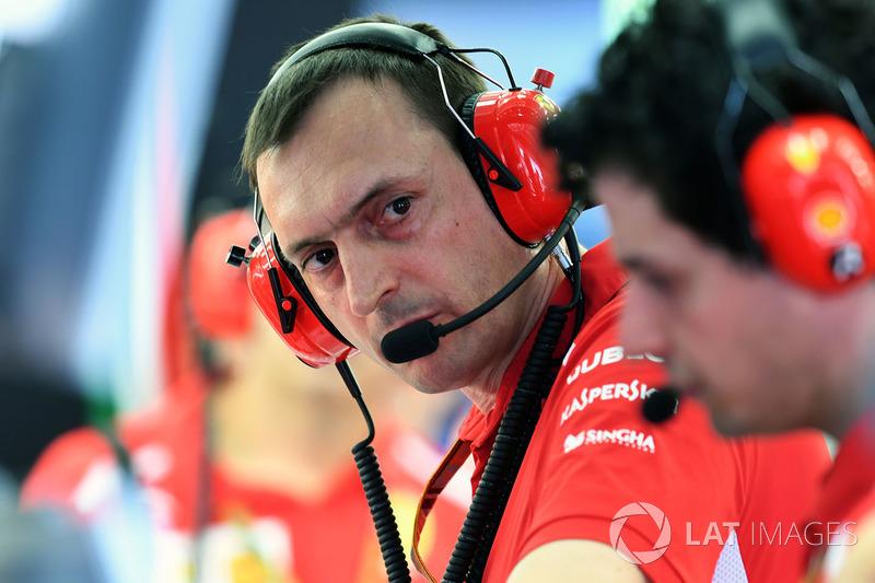 Riccardo Adami, ingénieur de course Ferrari