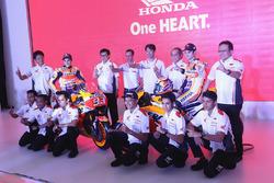 Марк Маркес, Дані Педроса, Repsol Honda Team, з командою