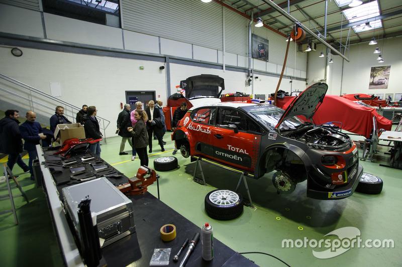 Assemblaggio della Citroen C3 WRC di Sebastien Loeb e Daniel Elena, Citroen World Rally Team