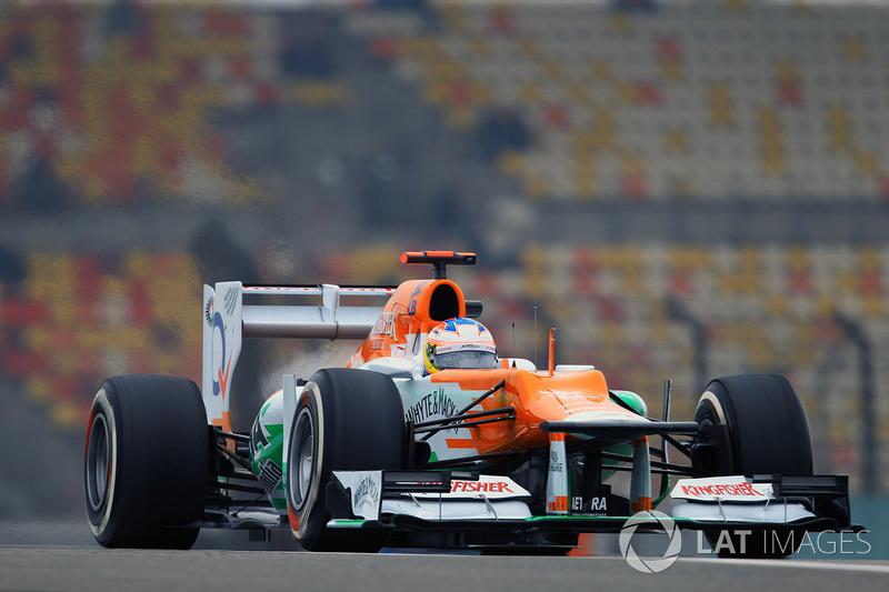 2012: Force India VJM05 Mercedes (два четвертых места, 7-е место в КК)