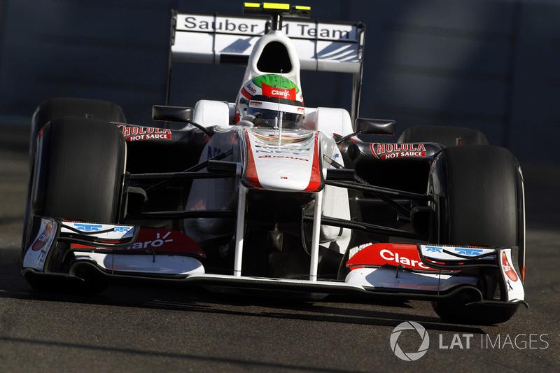 2011: Sauber C30 - Ferrari