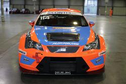 La Seat Leon DSG TCR di Alessandro Mazzolini, Gr. Piloti Forlivesi nel paddock