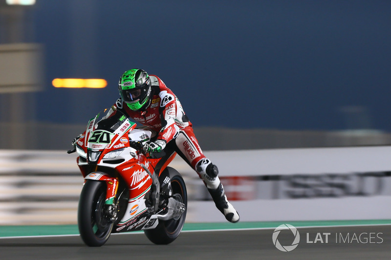 8. Eugene Laverty, Milwaukee Aprilia