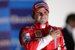 Podium: Felipe Massa, Ferrari