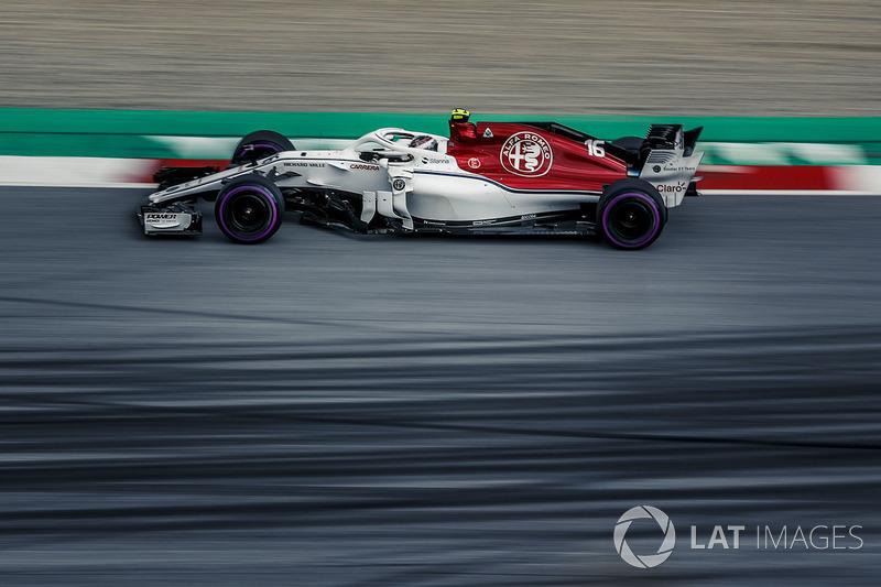 P9: Charles Leclerc, Sauber C37