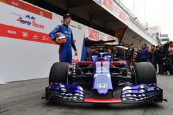 Brendon Hartley, Scuderia Toro Rosso and Scuderia Toro Rosso STR13