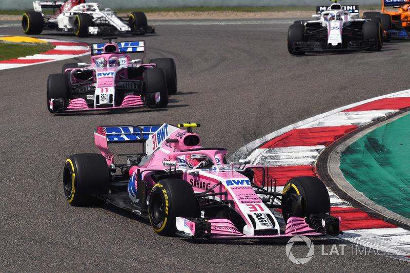 Force India geriledi