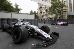 Kazalı araç, Sergey Sirotkin, Williams FW41