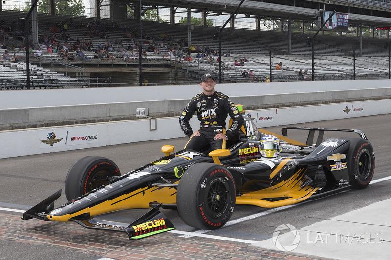 24°: Sage Karam, Dreyer & Reinbold Racing Chevrolet
