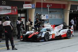 Toyota TS050 Hybrid №8: Фернандо Алонсо, Toyota Gazoo Racing