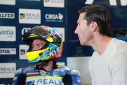Xavier Simeon, Avintia Racing, mit Ruben Xaus