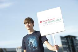 Grid kid for Audi Sport ABT Schaeffler