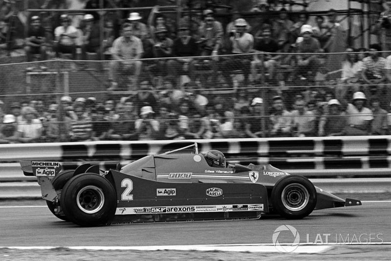 Gilles Villeneuve, Ferrari 126C with Turbo engine