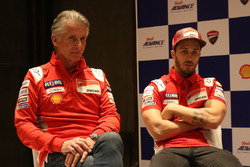 Paolo Ciabatti mit Andrea Dovizioso, Ducati Team