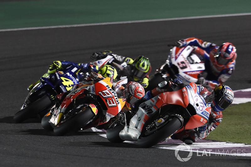 #1 GP du Qatar - Victoire : Andrea Dovizioso