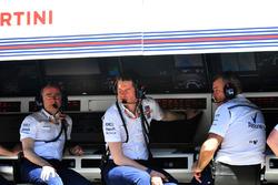 Paddy Lowe, Williams Hissedarı ve Teknik Patronu ve Rob Smedley, Williams Performans Sorumlusu