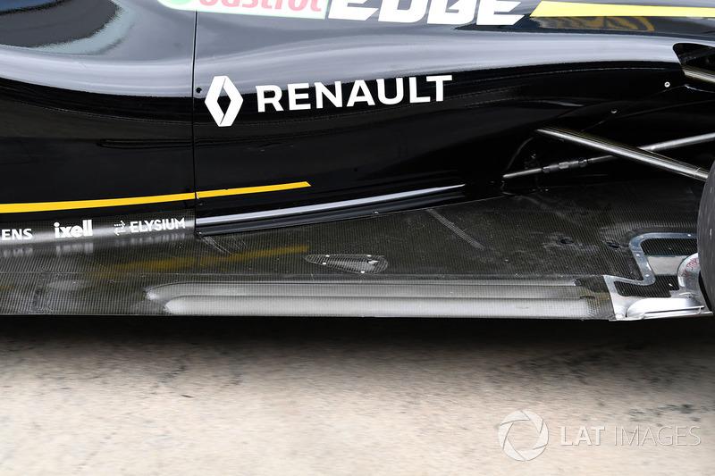 Задняя часть днища Renault RS18