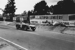 Jose Froilan Gonzalez, Maurice Trintignant, Ferrari 375 Plus; Innocente Baggio. Ferrari 375 MM Berlinetta