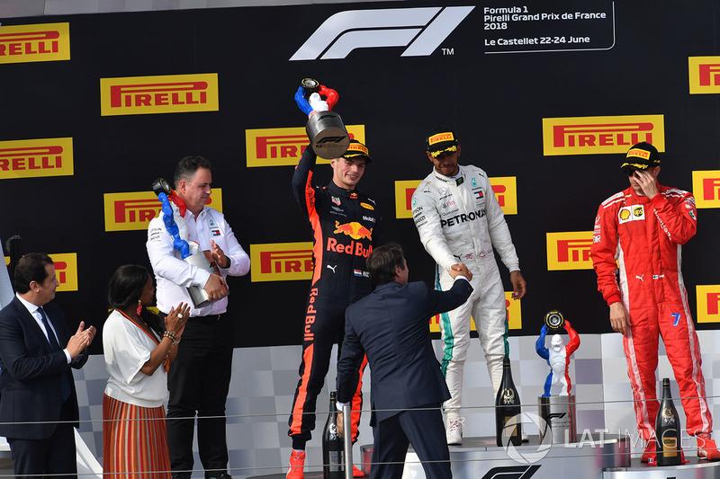 14. 2018, Grand Prix van Frankrijk (tweede)