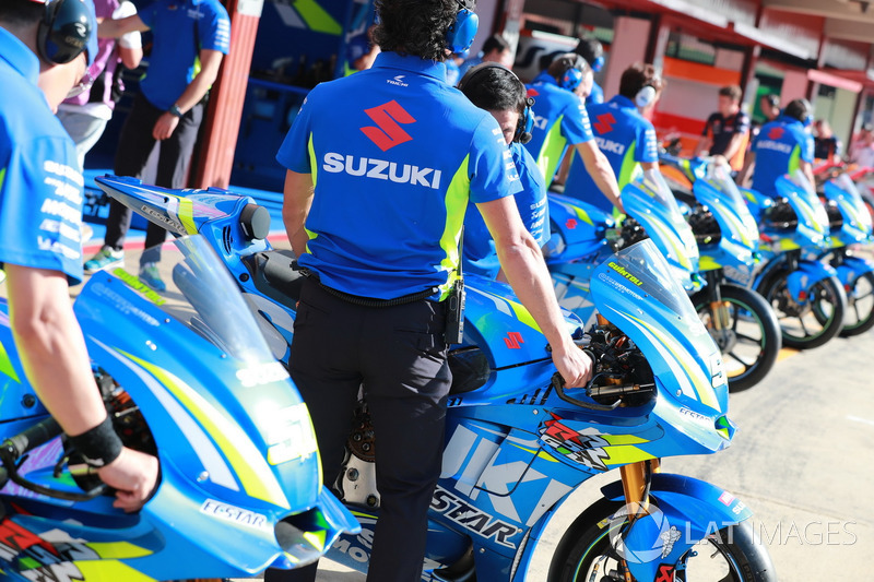 Motor tim Suzuki MotoGP
