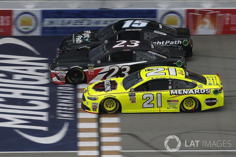 Paul Menard, Wood Brothers Racing, Ford Fusion Menards / Jack Links Gray Gaulding, BK Racing, Toyota
