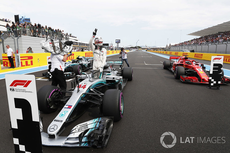 8. GP Perancis - Pole: Lewis Hamilton