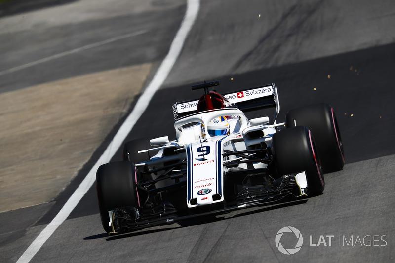 Marcus Ericsson, Sauber C37.