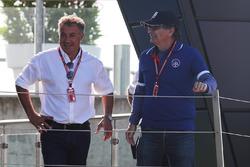 Jean Alesi, père de Giuliano Alesi, Trident et Nelson Piquet, père de Pedro Piquet, Trident